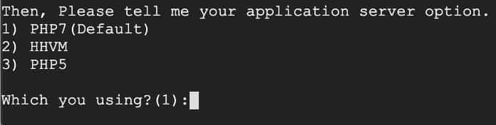PHPバージョン